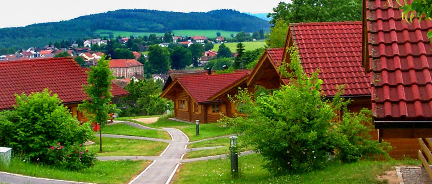 Ferienpark in Stamsried Feriendorf in der Oberpfalz Ferienanlage in Bayern