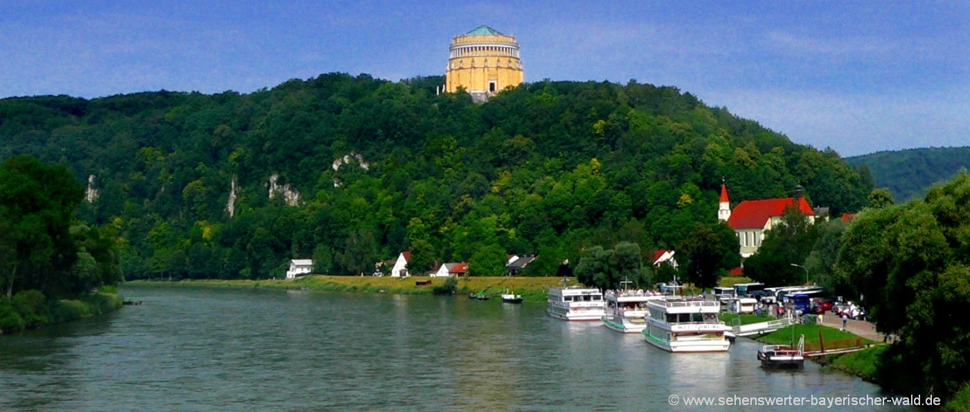kelheim-befreiungshalle-altmühltal-ausflugsziele-fluss-donau-schifffahrt