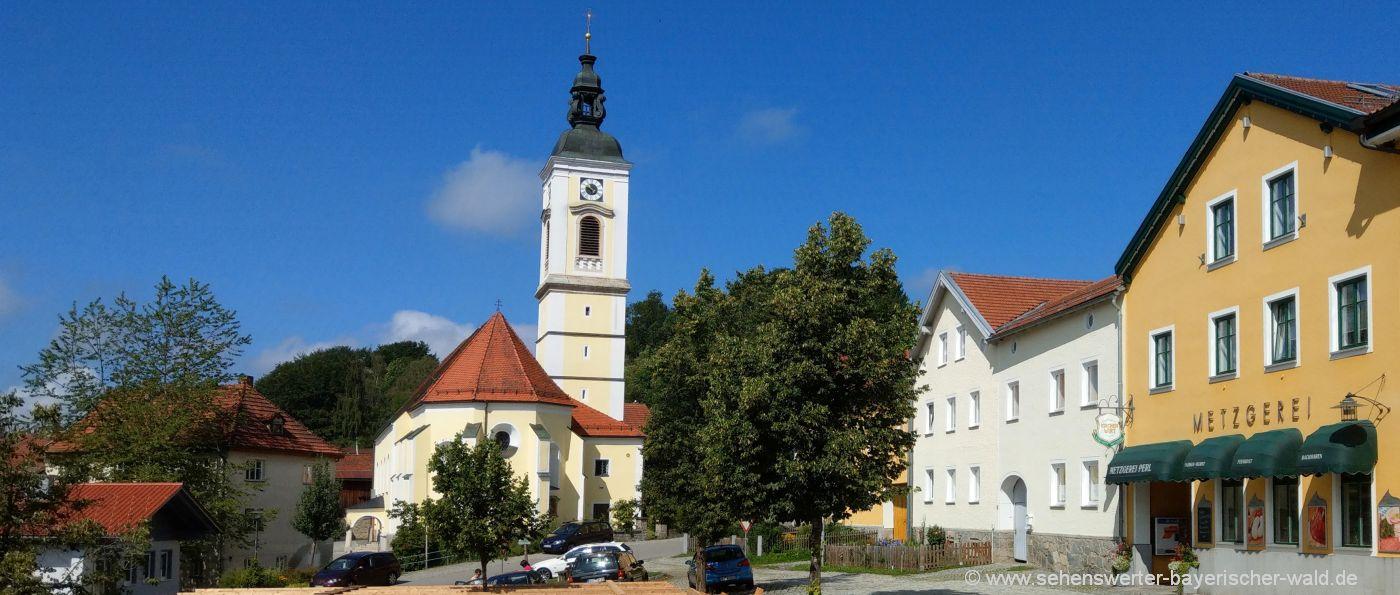 kirchdorf-im-wald-ausflugsziele-sehenswuerdigkeiten-pfarrkirche