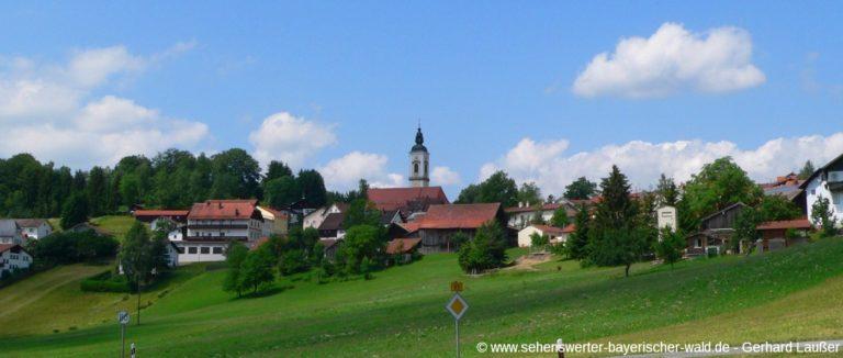 kirchdorf-im-wald-sehenswuerdigkeiten-bayerischer-wald-ausflugsziele-ortschaft-ansicht-panorama-1400