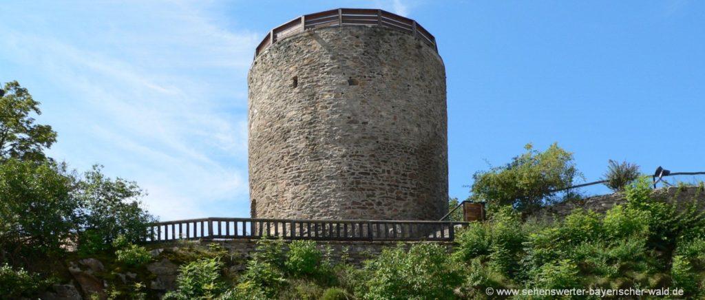 kollnburg-burgruine-aussichtsturm-bayerischer-wald-bayern