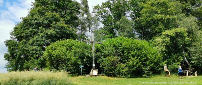 konzell-gallnerberg-gipfelkreuz-rundwanderweg