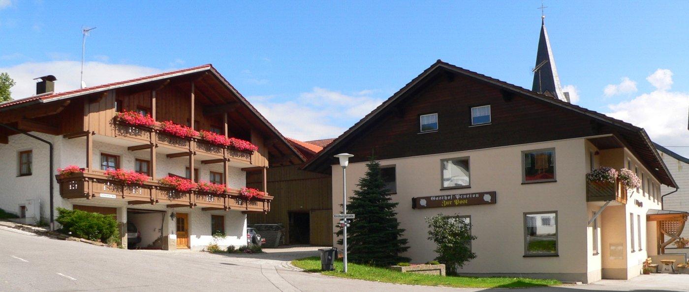 Gasthof in Achslach Pension Kraus am Hirschenstein Zimmer mit Frühstück