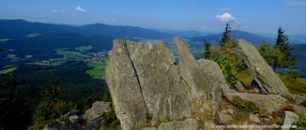 lam-osser-wanderung-berg-bayerischer-wald-felsen-aussichtspunkt