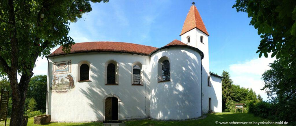 Ausflugsziele bei Chamerau Wallfahrtskirche Lamberg
