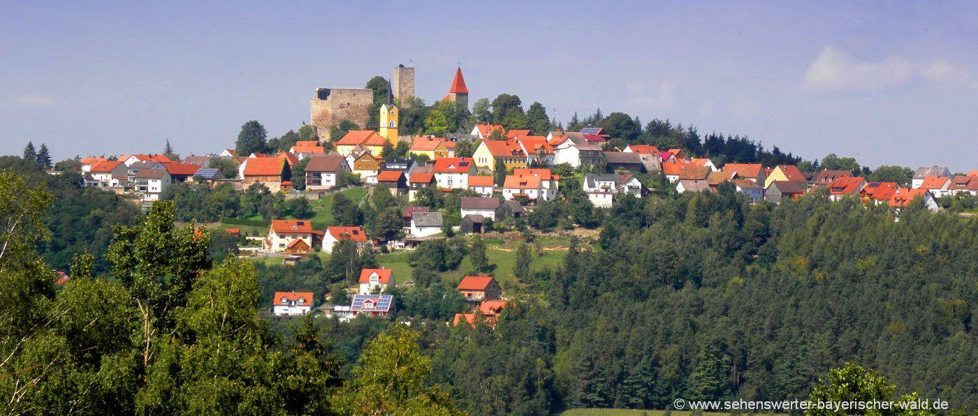 leuchtenberg-ortschaft-oberpfaelzer-wald-burgruine-ausflugsziele