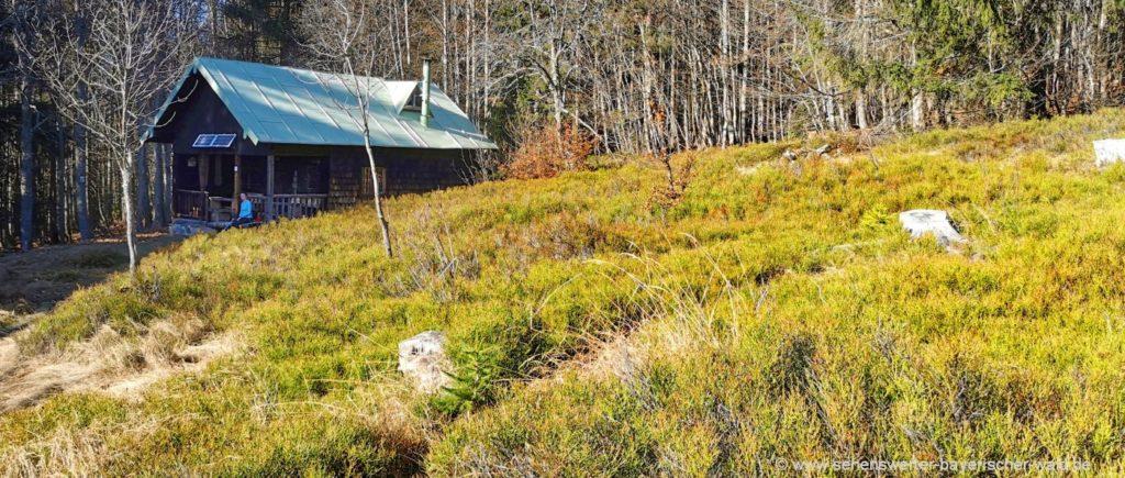 Lindberger Schachten Hütte Schachtenhaus im Nationalpark