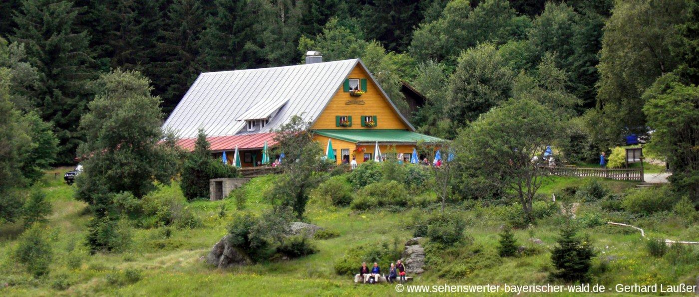lohberg-ausflugsziele-kleiner-arbersee-ausflugsgaststaette-gasthof-panorama