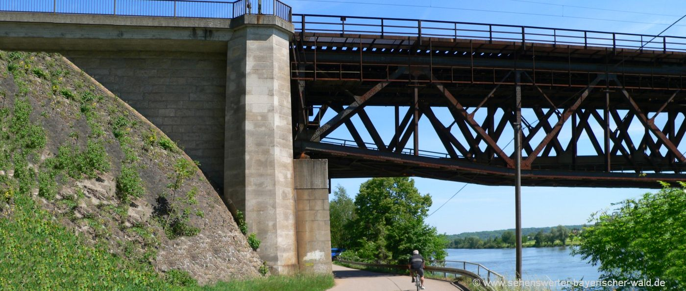 mariaort-eisenbahnbrücke-donau-radweg-wanderweg