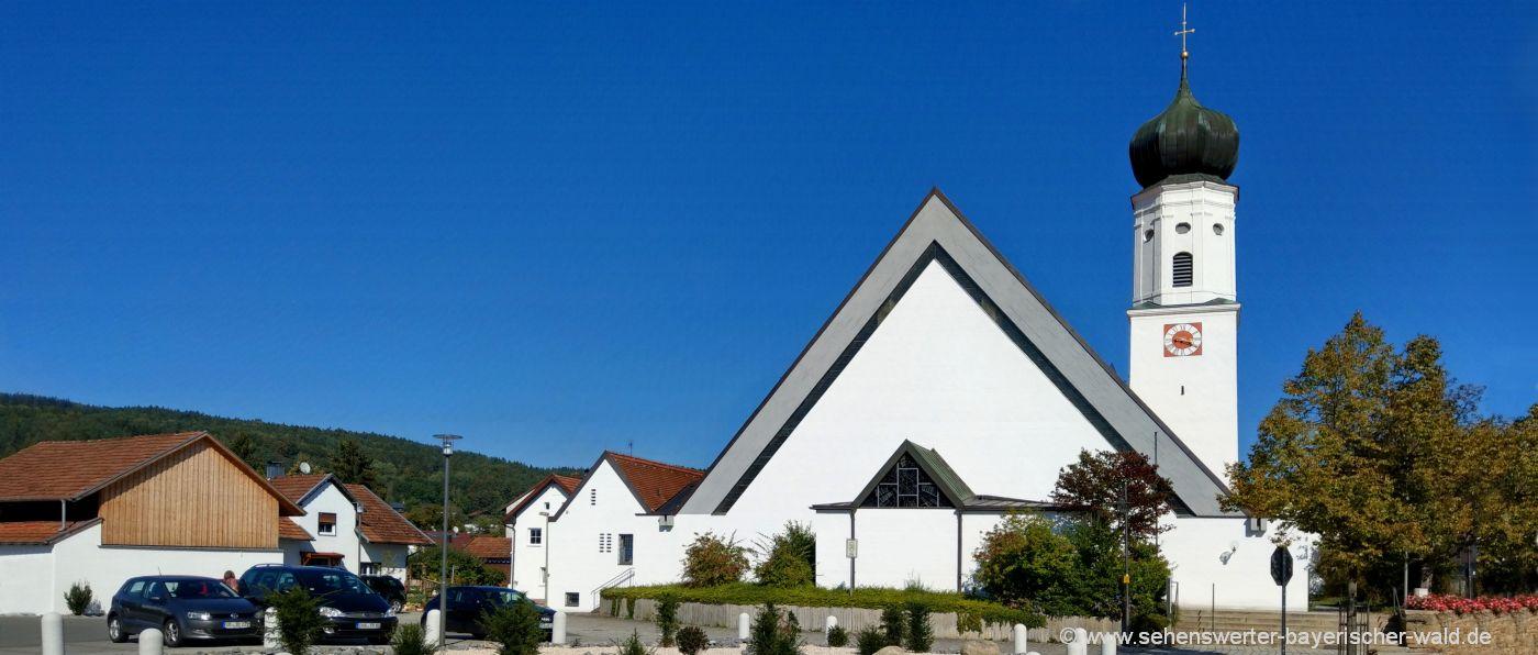 Kirche in Miltach Sehenswürdigkeiten und Ausflugsziele