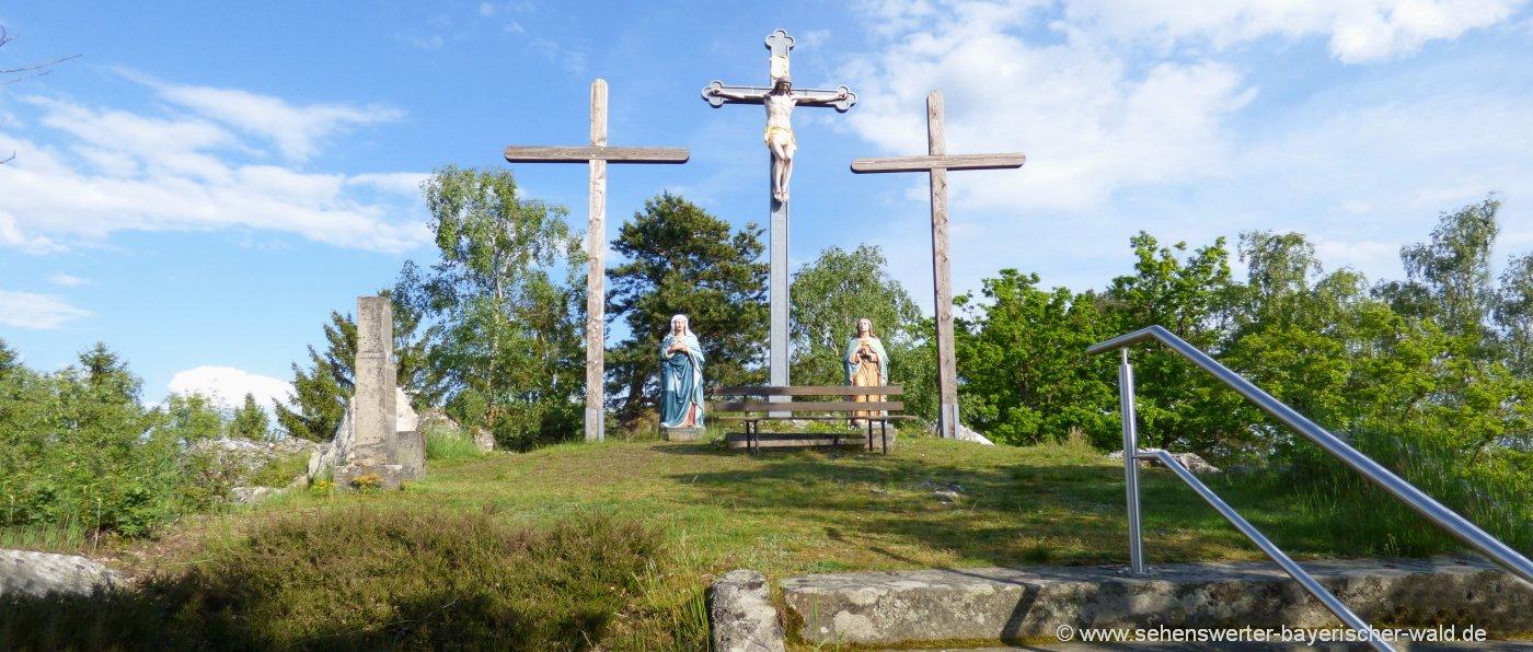 moosbacher-pfahl-kalvarienberg-kreuze-wandern-sehenswürdigkeiten