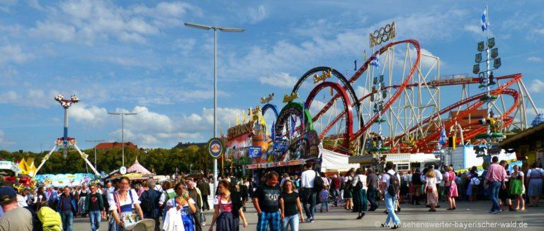 münchen-oktoberfest-attraktionen-bayern-fahrgeschäfte-achterbahn