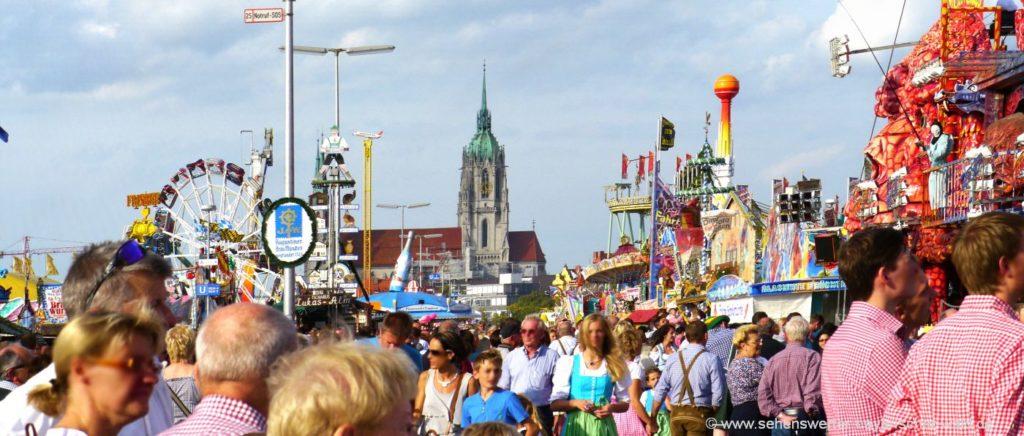 Volksfest Nürnberg 2021 Fahrgeschäfte