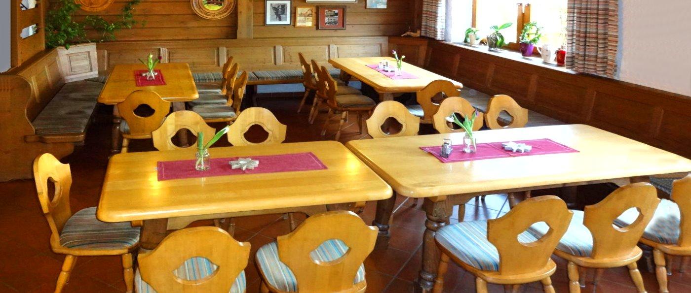 Gasthof mit Halbpension in Bodenmais Zimmer mit Frühstück