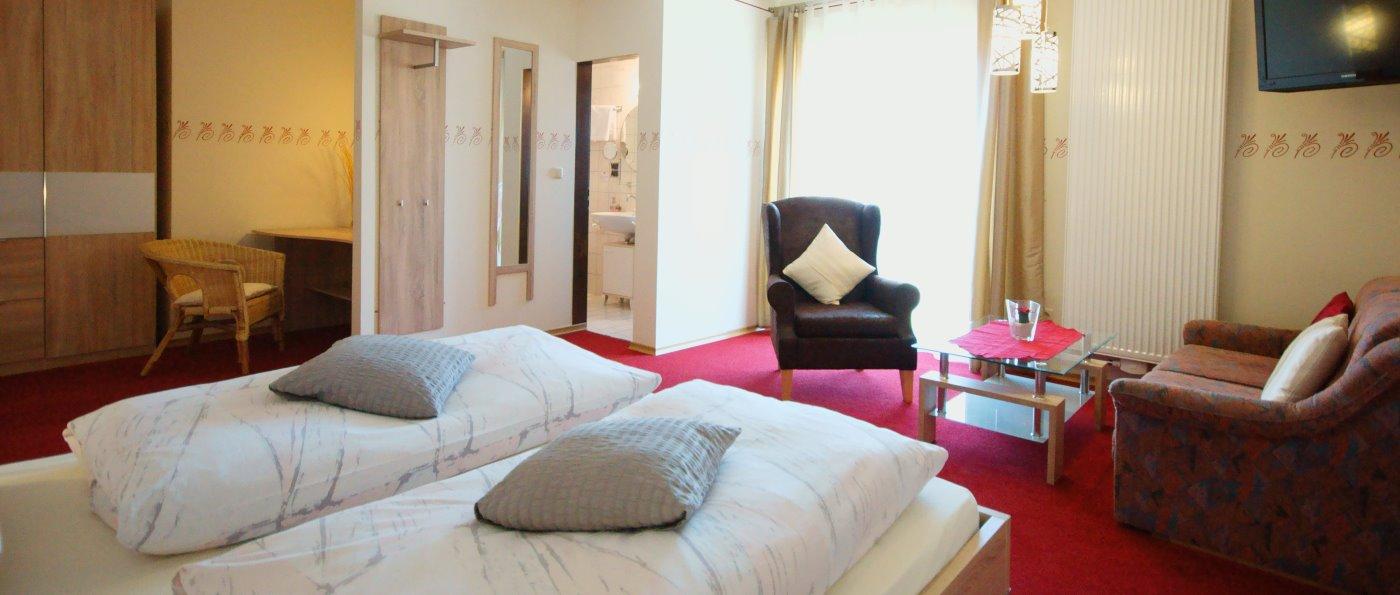 Zimmer Bergwieserl im 3 Sterne Hotel mit Hallenbad in Niederbayern