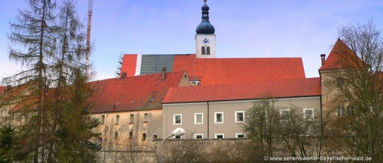 neunburg-vorm-wald-ausflugsziele-oberpfalz-stadtansicht-kirche