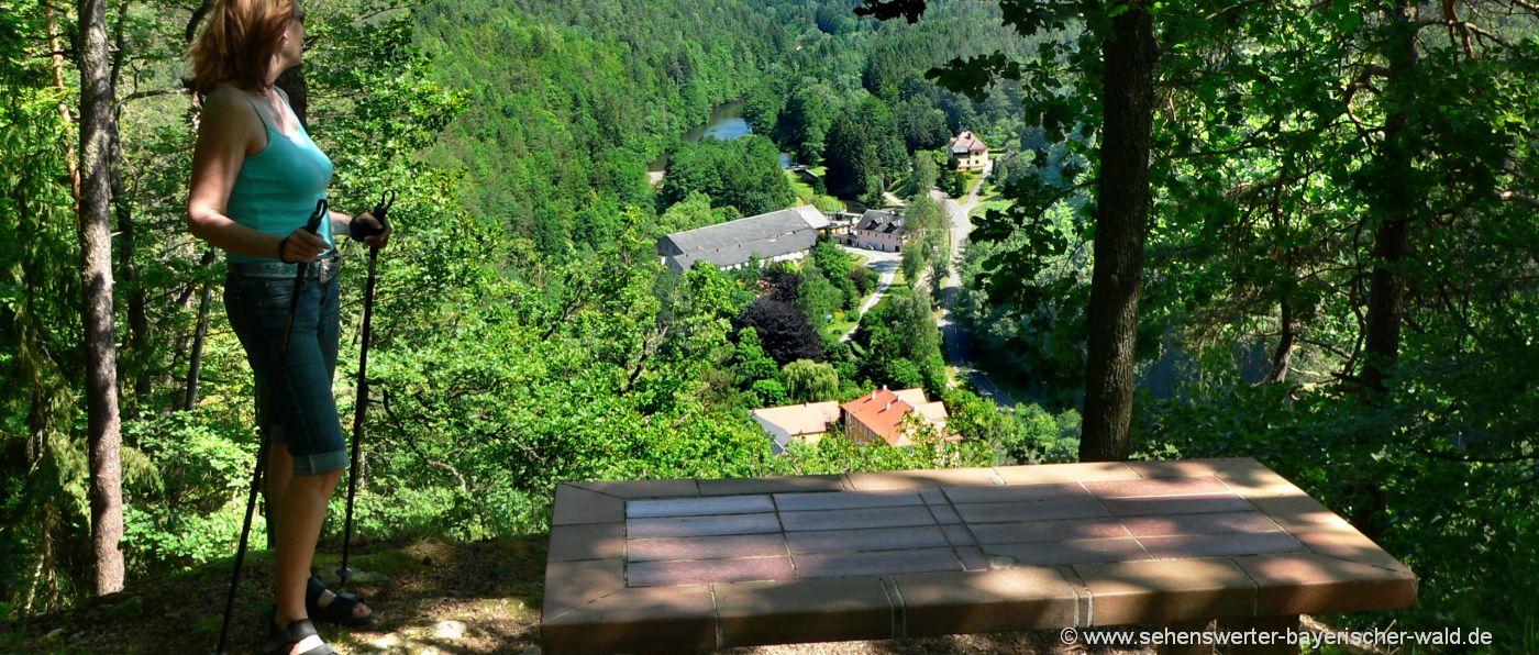neunburg-vorm-wald-wandern-kupferplatte-aussichtspunkt-untermurnthal