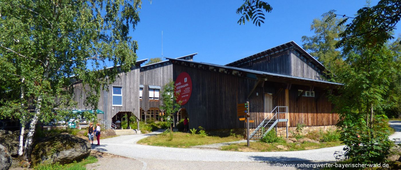 neuschönau-hans-eisenmann-haus-nationalpark-infozentrum