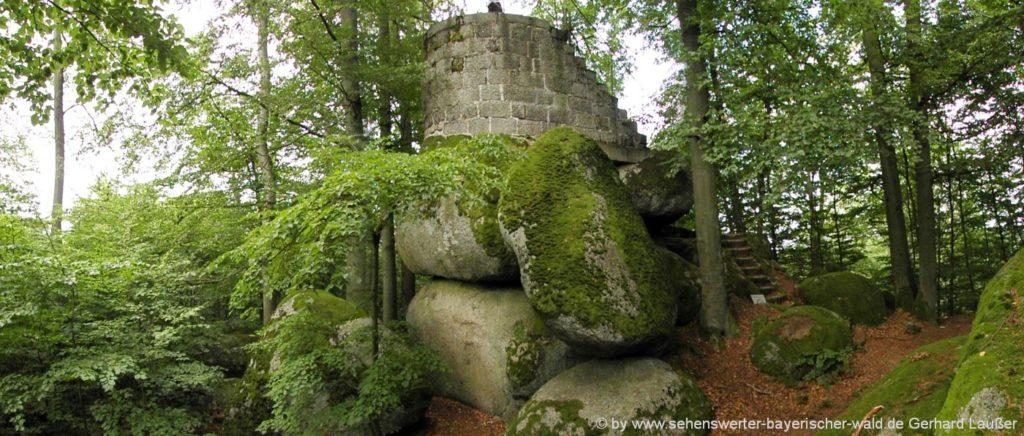Wandern vom Marienthal zum Wackelstein Regenstauf Aussichtspunkt Riedelhöhe