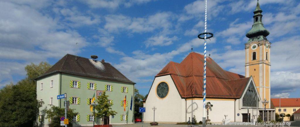 sehenswuerdigkeiten-nittenau-stadt-pfarrkirche-ausflugsziele-schwandorf