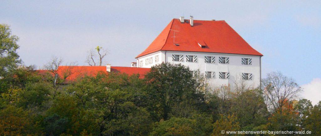 Wanderung zu Regental Felsen Obelix, Lurchi und Wichtelfelsen Ausgangspunkt Schloss Stefling