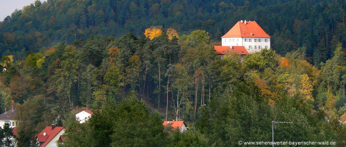 Oberpfälzer Burg Stefling Schloss bei Nittenau in Bayern