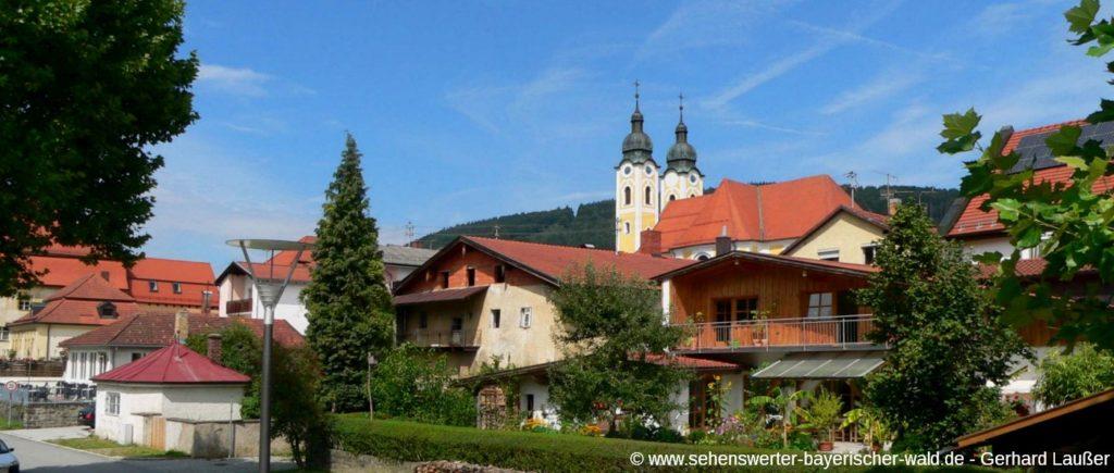 Obernzell an der Donau am Rundweg Kohlbachmühle Teufelsloch