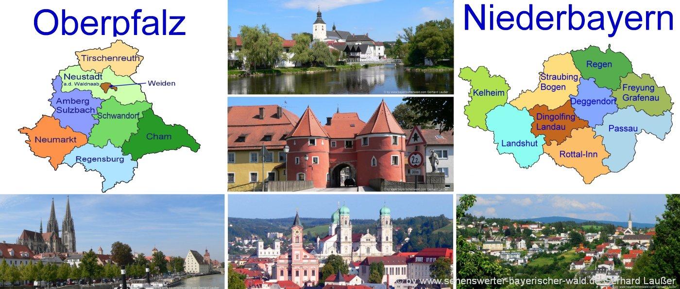 oberpfalz-landkreise-niederbayern-ausflugsziele-sehenswuerdigkeiten