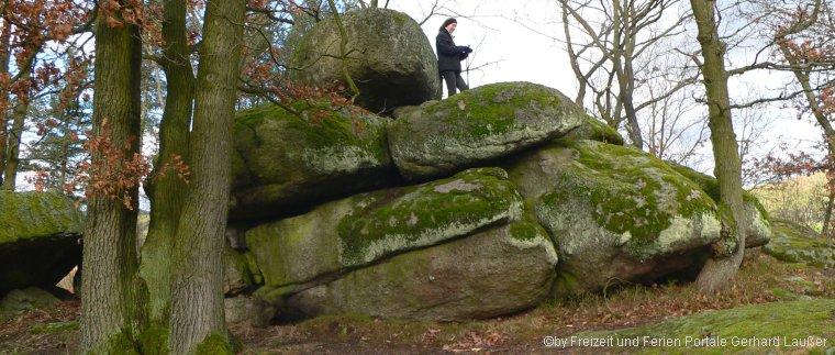 Druidensteine in Kröblitz Kelten Opfersteine bei Neunburg vorm Wald