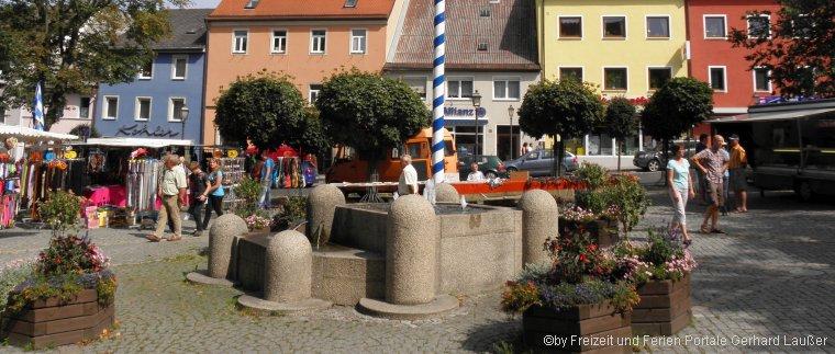 Sehenswürdigkeiten in Vohenstrauß Martkplatz