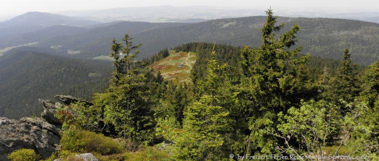 Wanderung am Osser Künisches Gebirge