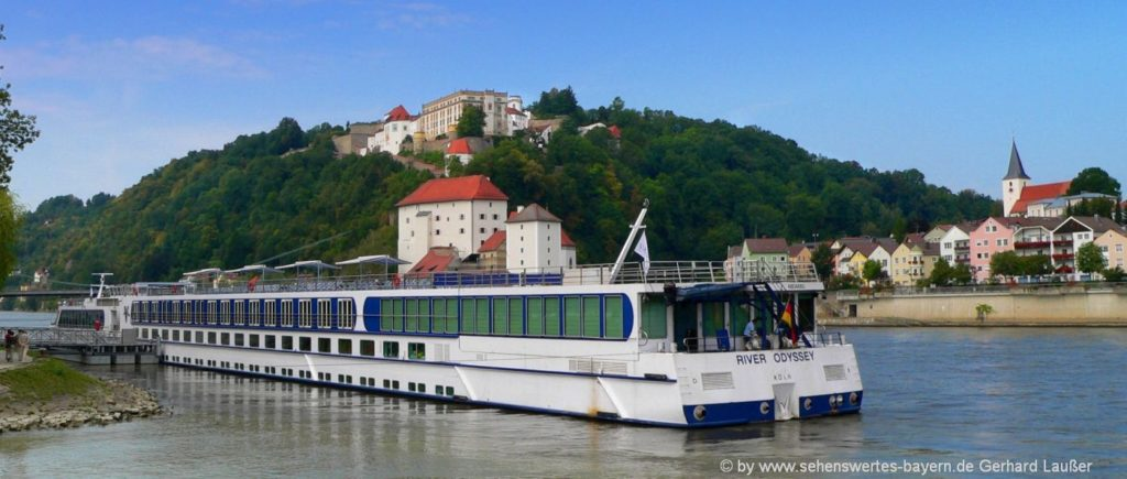 Schloss und Burganlage Passau Veste Oberhaus & Veste Niederhaus