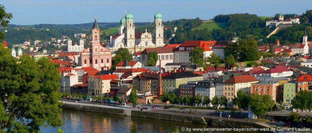 Ausflugsziele Landkreis Passau Sehenswürdigkeiten in Niederbayern