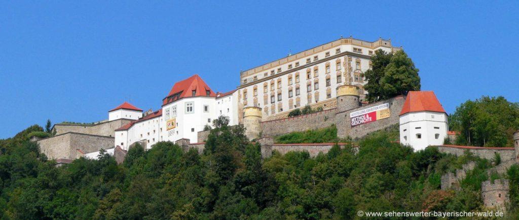passau-sehenswürdigkeiten-veste-oberhaus-ausflugsziel-niederbayern