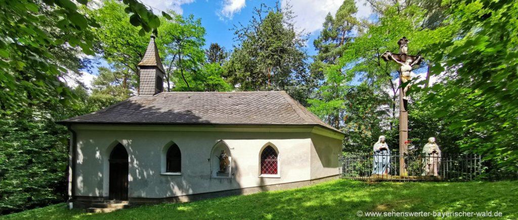 Kalvarienbergkirche am Kalvarienberg - Ausflugstipp bei Pemfling