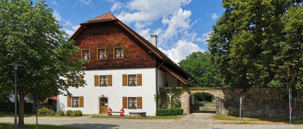 Grafenkirchen und Pemfling bei Cham Oberpfalz in Bayern