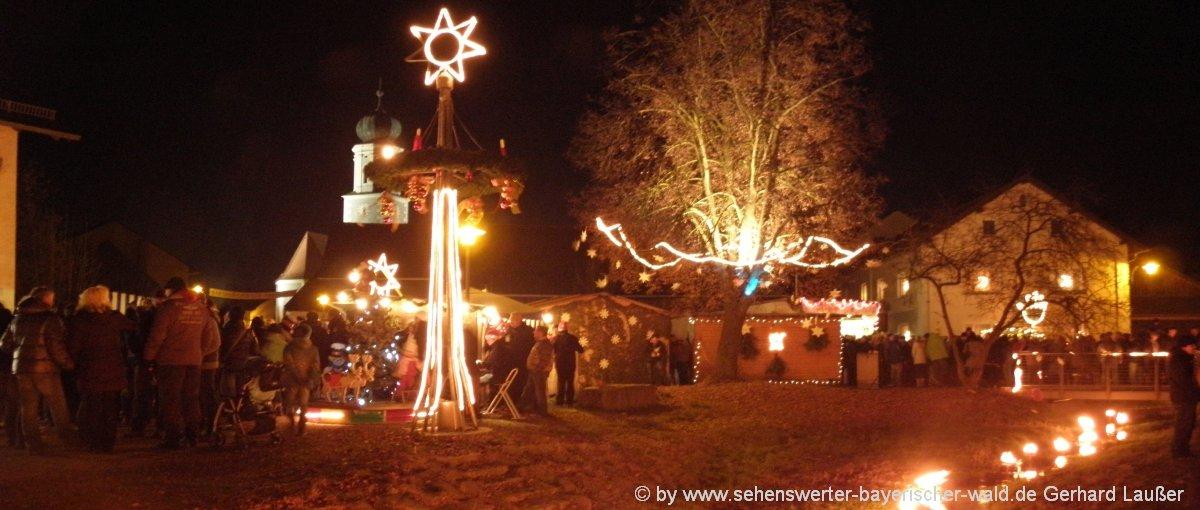 Romantischer Weihnachtsmarkt.Christkindlmarkt In Pösing Romantische Weihnachtsmärkte Der Oberpfalz