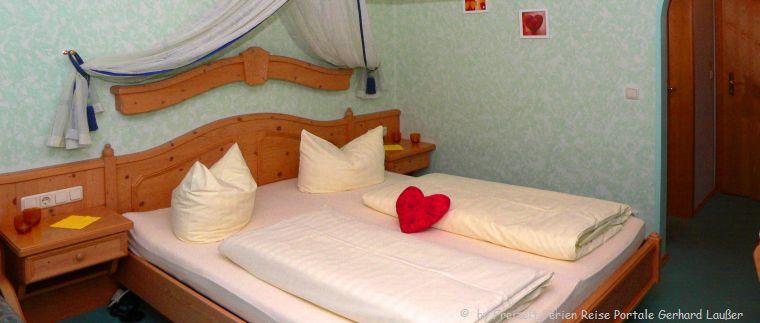 günstig übernachten in der Privatpension Doppelzimmer
