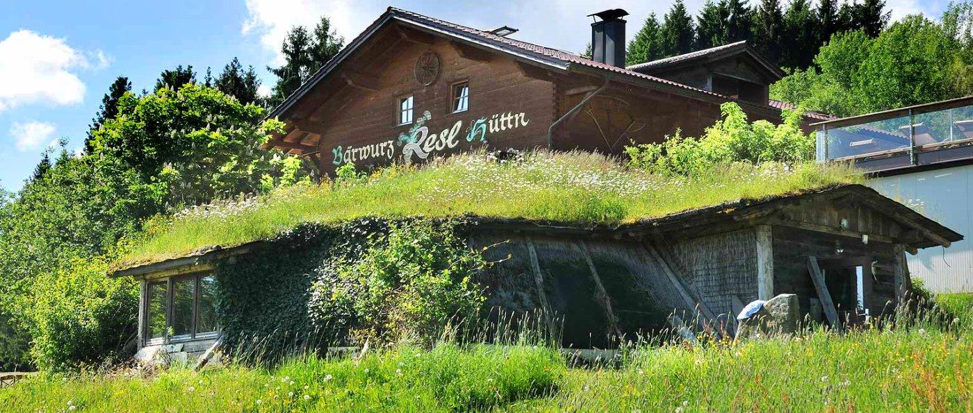 Sankt Englmar Wilderer Erdhütte Bayerischer Wald