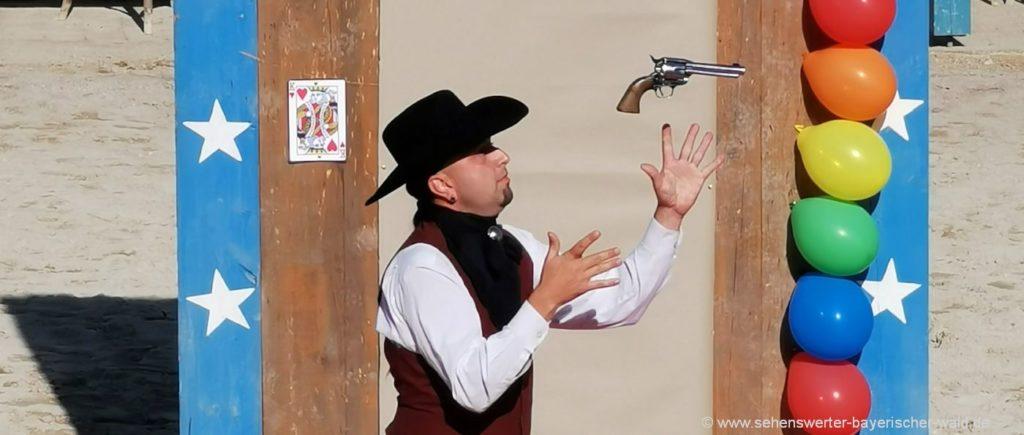 Pullman City Shows und Attraktionen in Niederbayern