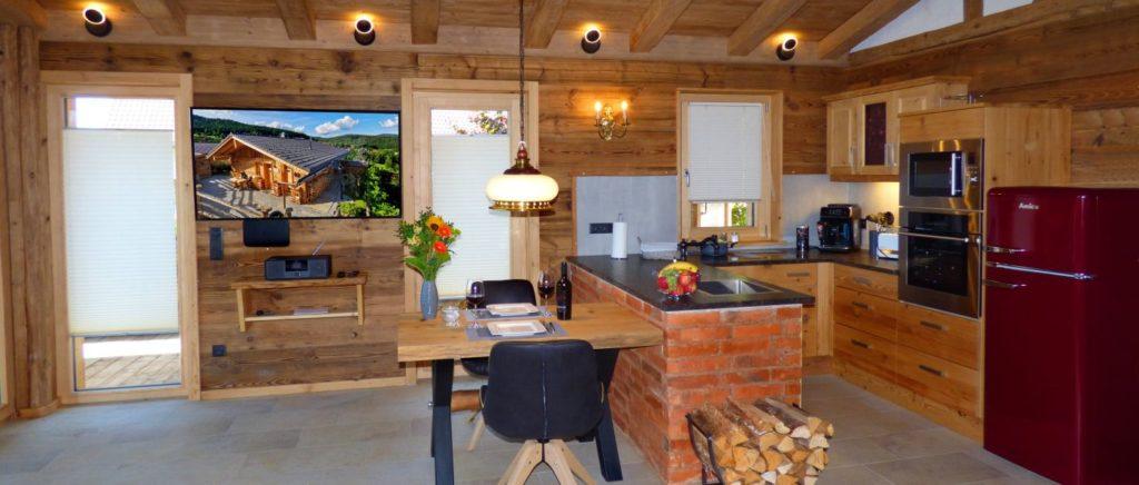 Wellness und Luxus Chalets in Zwiesel im Bayerischen Wald mieten