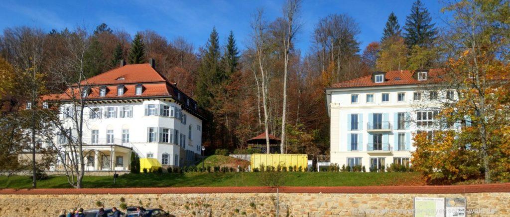 Schloss Rabenstein direkt am Wanderparkplatz und Ausgangspunkt