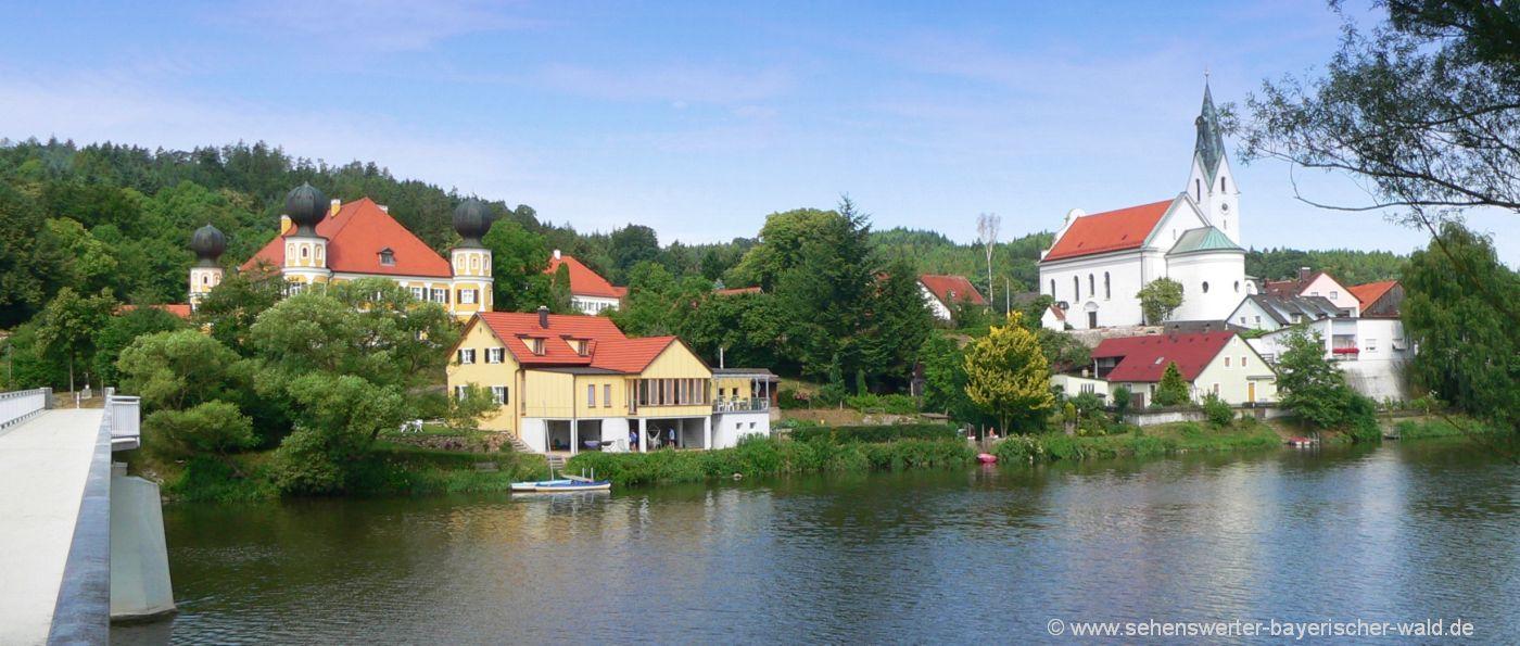 Sehenswürdigkeiten in Ramspau Schloss und Kirche