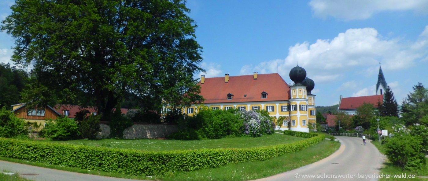 Schloss Ramspau am Regen Ausflugsziele bei Regenstauf
