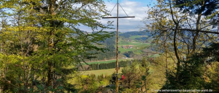 rattenberg-kramerschopf-gipfelkreuz-rundwanderweg-aussicht