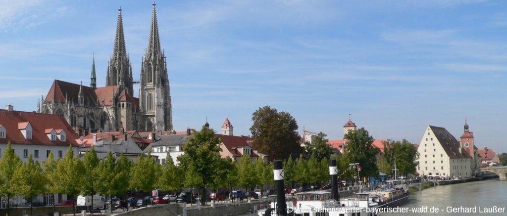 Sehenswüdigkeiten in Regensburg Ausflug und Stadtführung