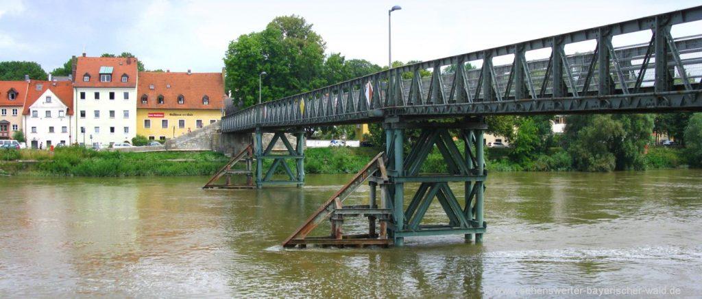 regensburg-spaziergang-donau-eiserner-steg-bruecke-wandern