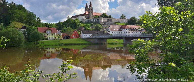reichenbach-bayern-ausflugsziele-klosterkirche-regen-fluss