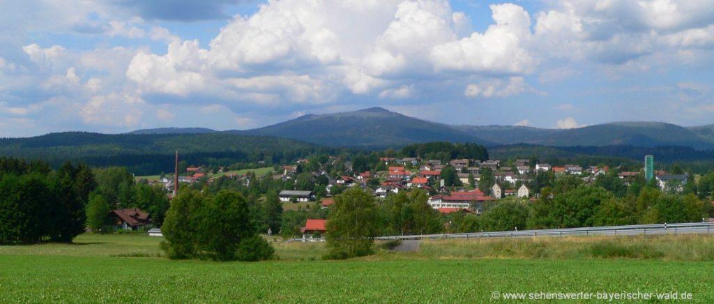 Sehenswürdigkeiten Sankt Oswald Riedelhütte Ausflugsziele Bayerischer Wald
