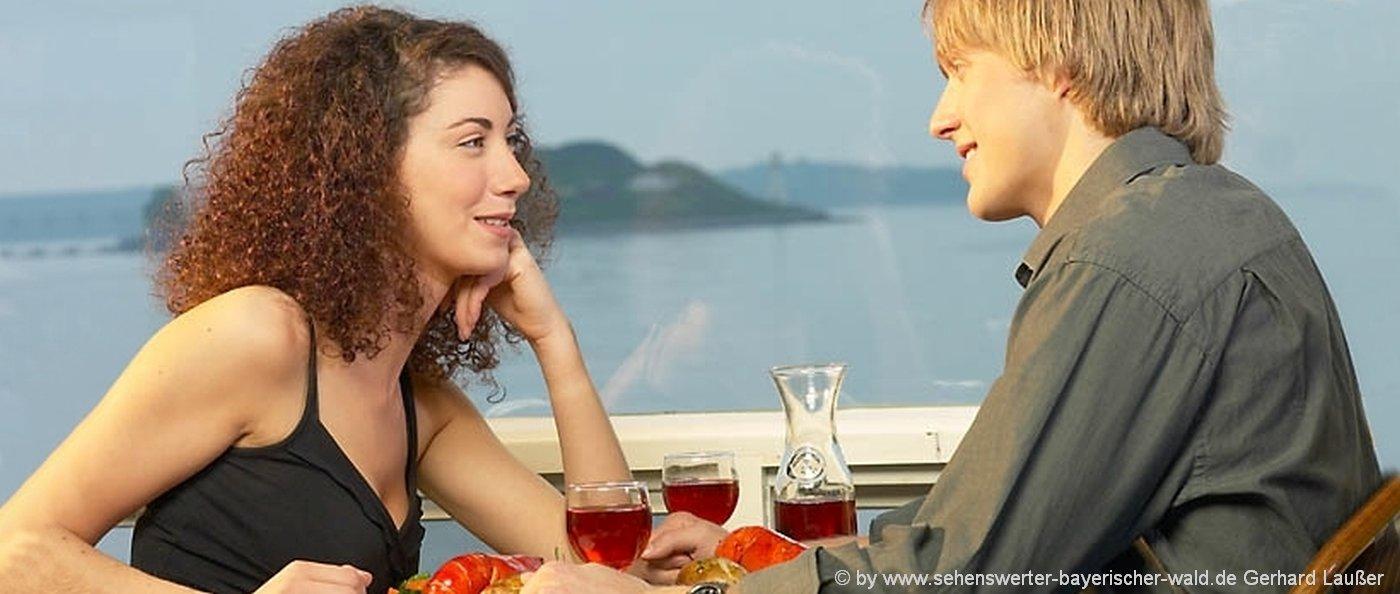 Kuschelurlaub für 2 Verliebte in Bayern Romantisches Wochenende zu Zweit